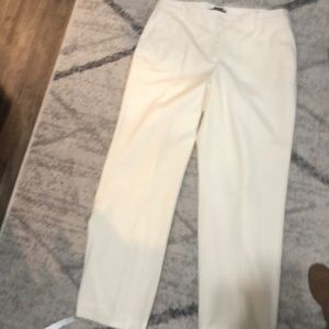 Talbots Italian flannel career trousers